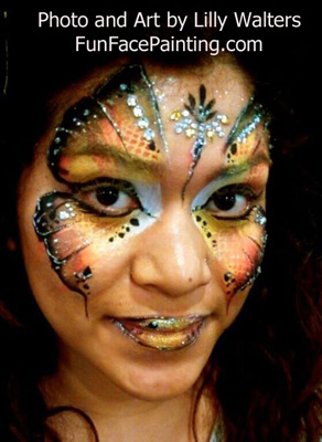 Face painting in Claremont, La Verne, Upland, Pomona, Big Bear Lake