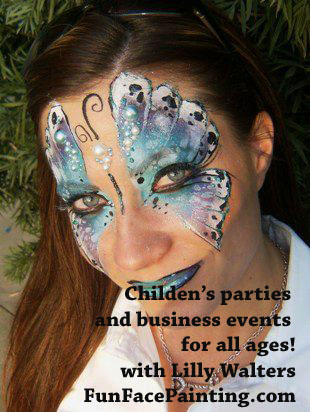 Face Painter Painting for Corporate Events and Children's Parties in Face Painter in Placentia, Yorba Linda, Brea, Anaheim Hills, Fullerton