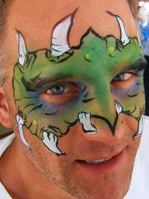 Face Painting at Company Picnic and Parties in Claremont, La Verne, Upland, San Dimas, Pomona, Rancho Cucamonga