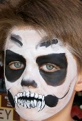 Halloween Face Painter Face Painting in Claremont, La Verne, Upland, Montclair, Rancho Cucamonga, San Dimas, Pomona